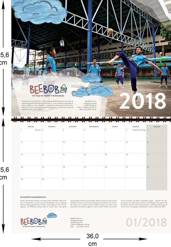 01_Kalender-BeeBob-2018-Januar