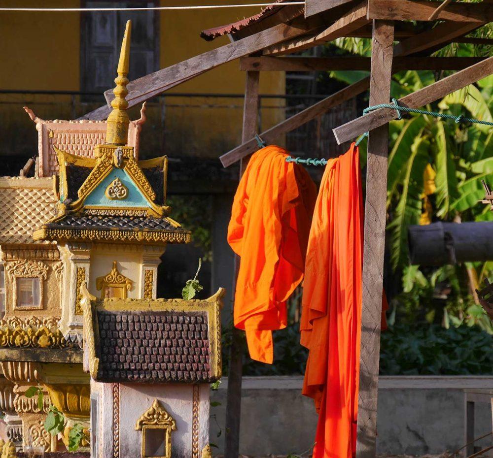 Tempel_Mönche_Kambodscha